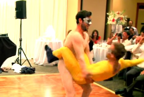These NHL Players Prank Their Teammate during his Wedding with this Expressive Dance Routine