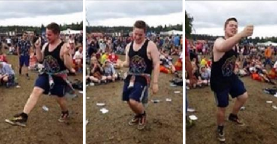"This Kid Heard ""Uptown Funk"" and What He Does Silenced The Crowd"